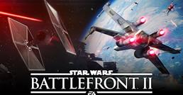 Star Wars Battlefront 2 Starfighter Assault gameplay video