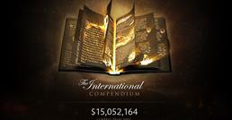 The International prize pool passes the final milestone - $15 million