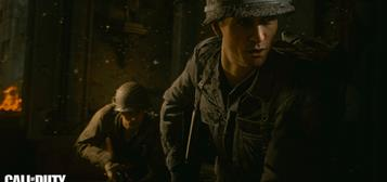 Call of Duty: WWII multiplayer gameplay & screens
