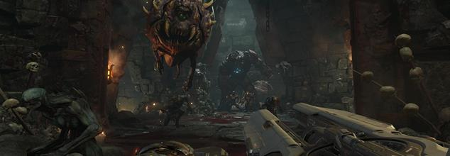 One hour of Doom single-player footage