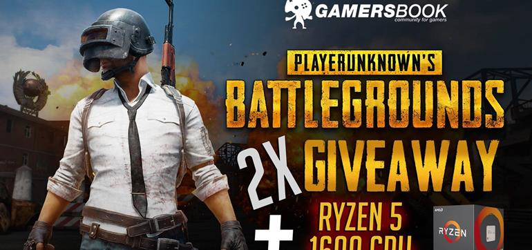 PLAYERUNKNOWN's BATTLEGROUNDS + Ryzen 5 1600 CPU Giveaway