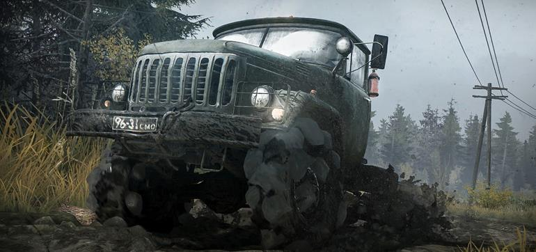 Spintires: MudRunner gameplay trailer