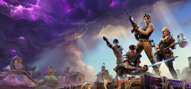 Fortnite available now in Early Access