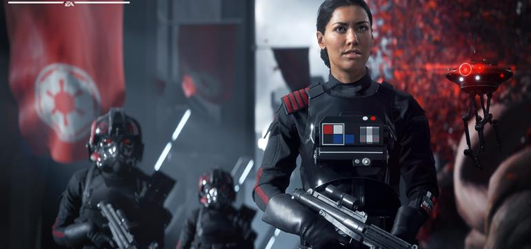 Star Wars Battlefront 2 - single player video