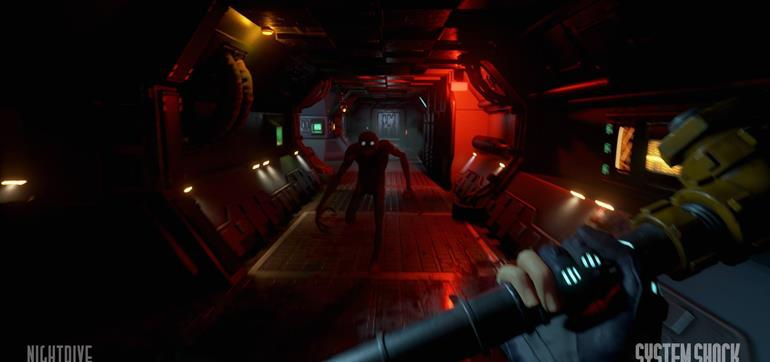 System Shock Unreal Pre-Alpha trailer