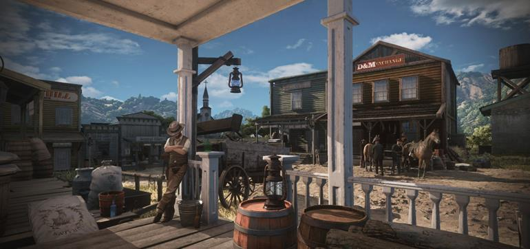 Wild West Online debut gameplay video