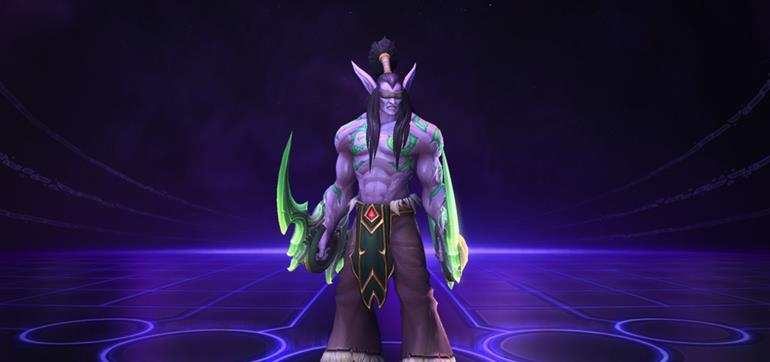 how to play illidan heroes