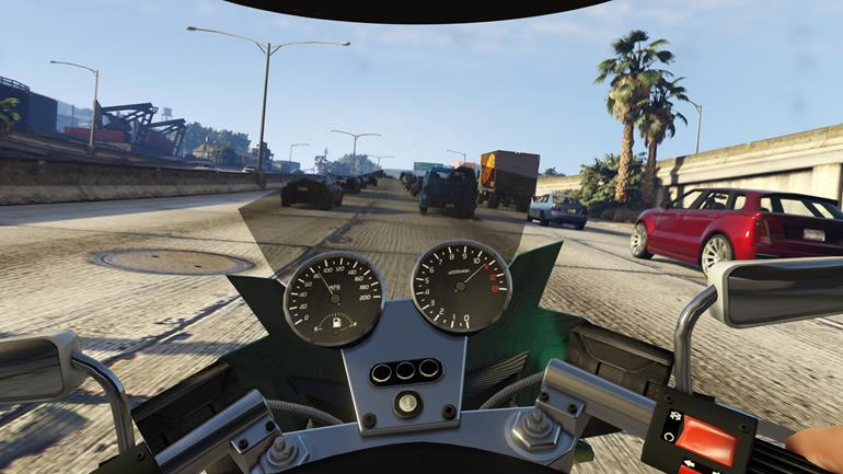 gta v first person mode