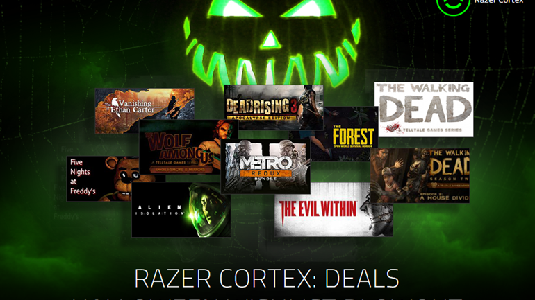 Razer Cortex: Deals Halloween Wishlist Blowout Giveaway > GamersBook