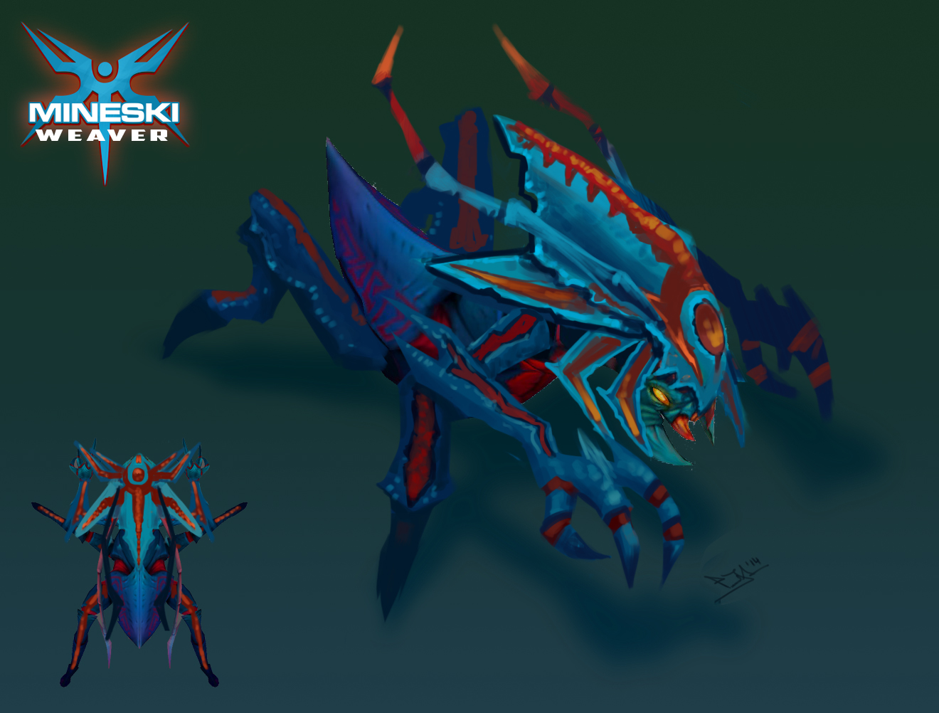 carapace of creation set for weaver by mineski and gamersbook