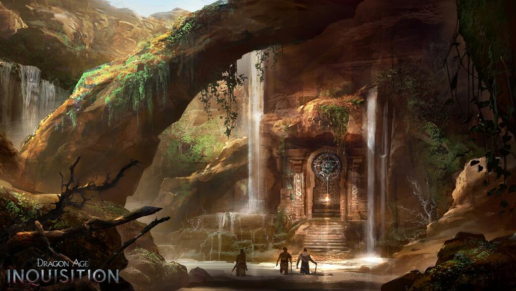 Dragon Age Bioware Video Games Rpg Fantasy Art: Dragon Age Inquisition- More Gorgeous Art Released