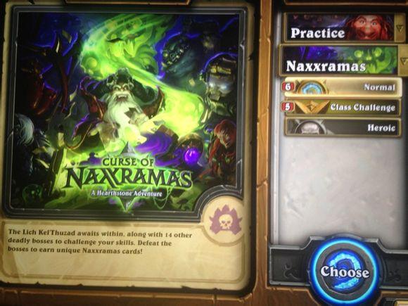 HearthStone Klątwa Naxxramas
