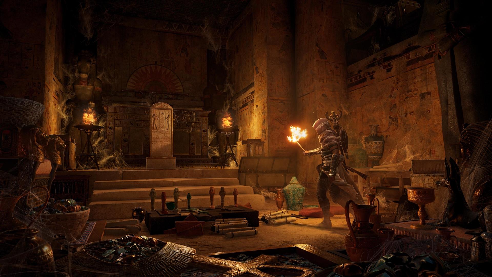Assassin S Creed Origins New Screenshots Gt Gamersbook