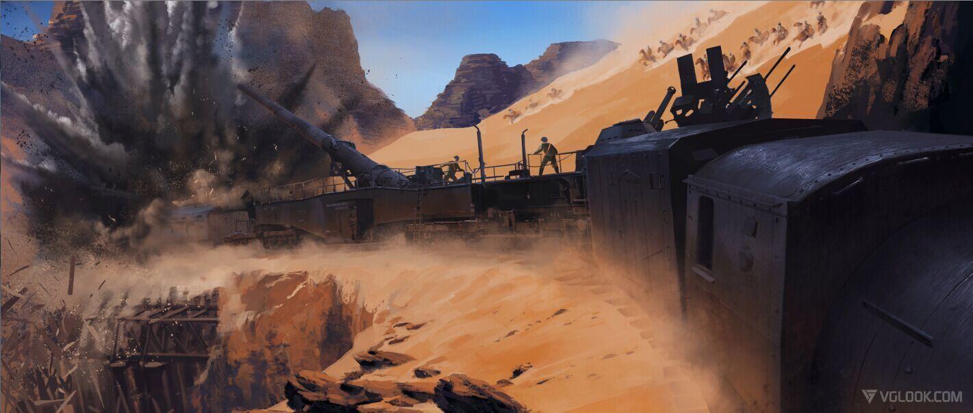 Battlefield Argonne Forsest Concept Art