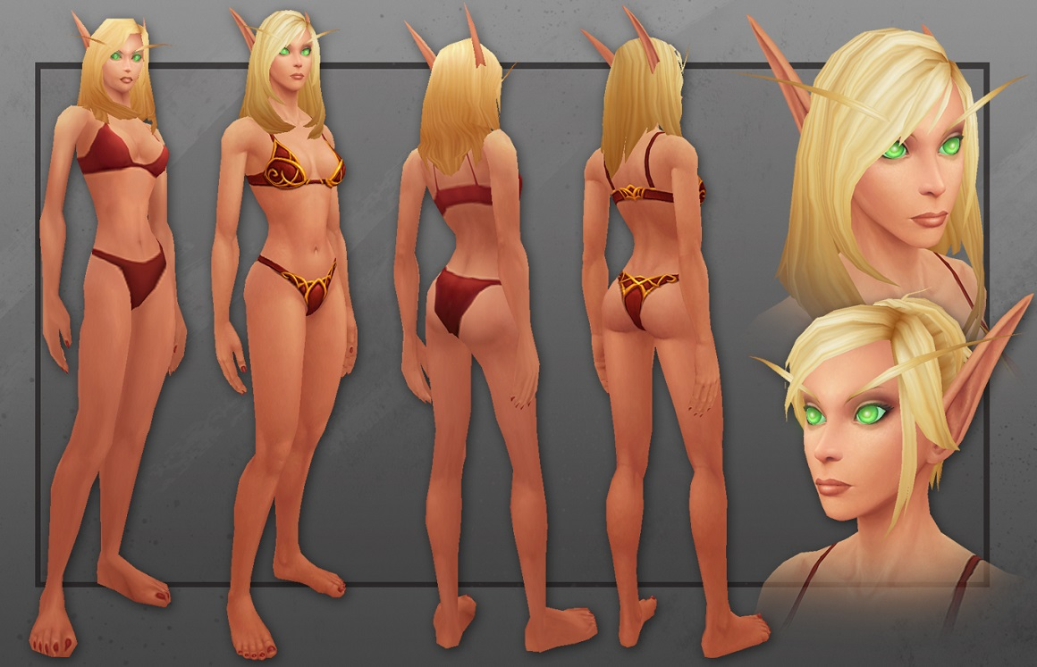 Blood elf butts porncraft photo