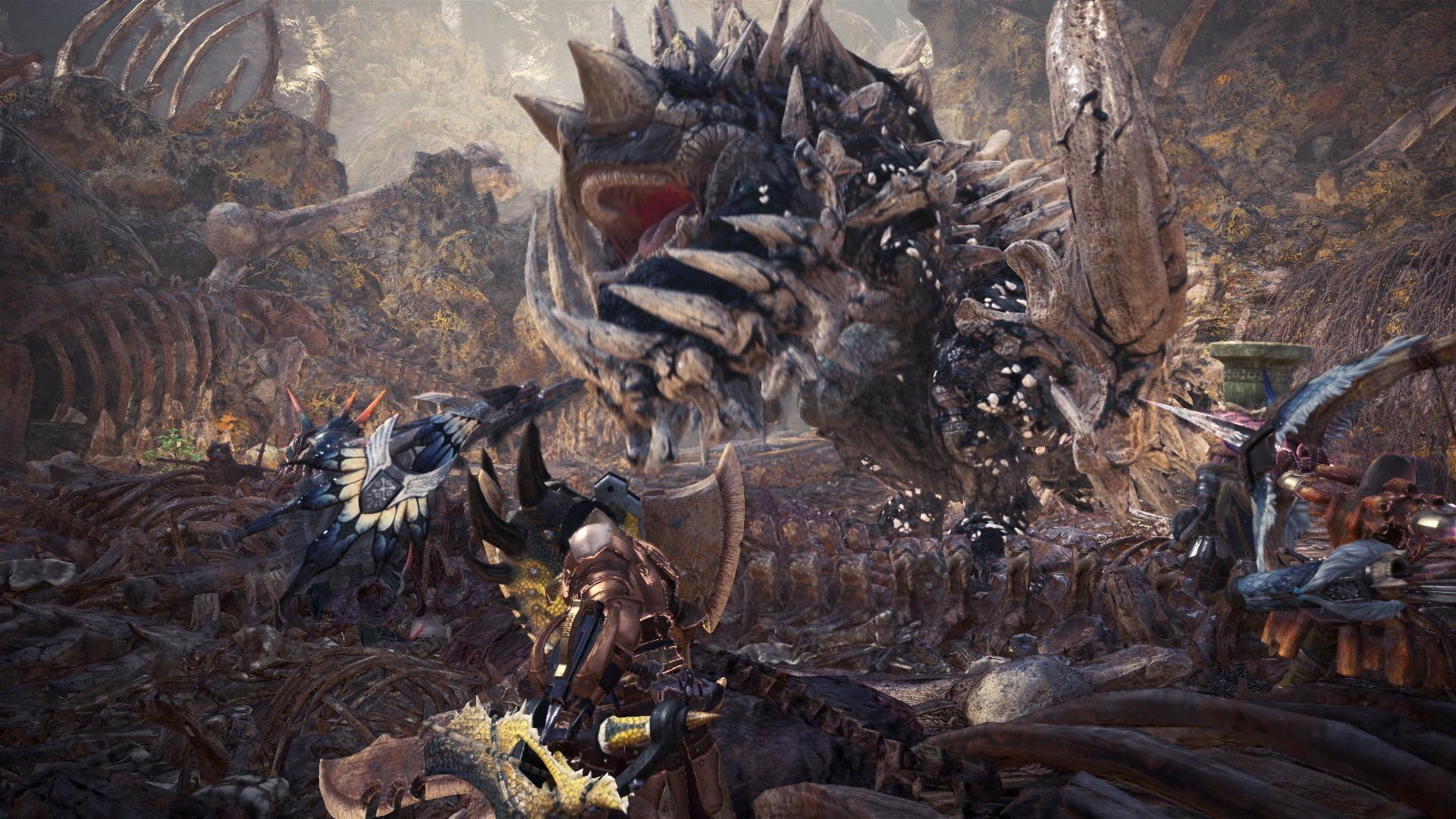 New Monster Hunter World trailer and screenshots > GamersBook