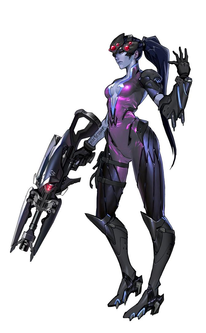 Overwatch Character Design Concept Art : Overwatch character art gt gamersbook