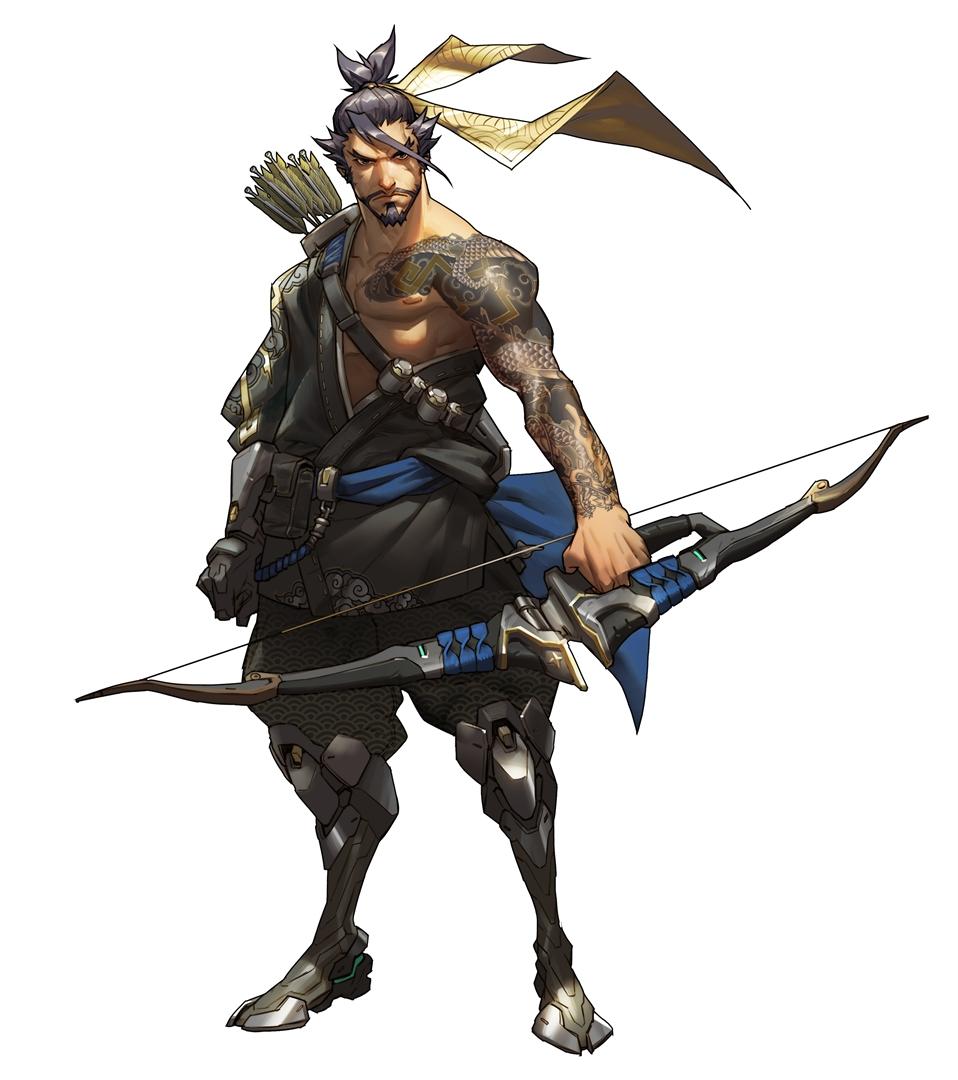 Overwatch Character Art Gt Gamersbook