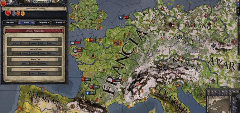 Crusader Kings II Conclave expansion coming in February