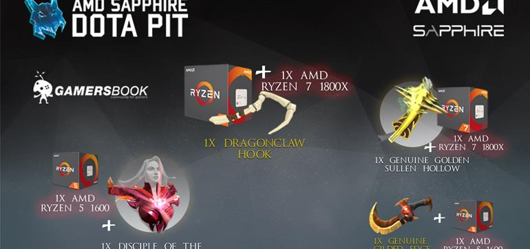 AMD Gaming​, Dota Pit​ and Sapphire Technology Club giveaway