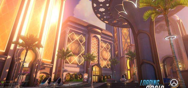 Overwatch Oasis map now available