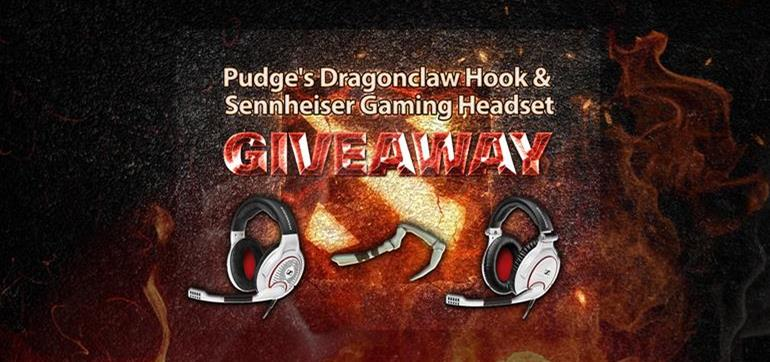 Dragonclaw Hook & Sennheiser Headset Giveaway